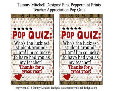 printable christmas pop quiz free printable teacher appreciation week easy gift idea