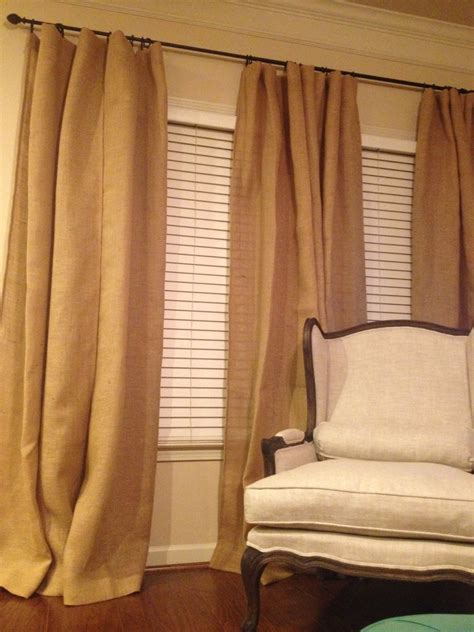 sheer burlap curtains burlap sheers french door drapes burlap curtains french