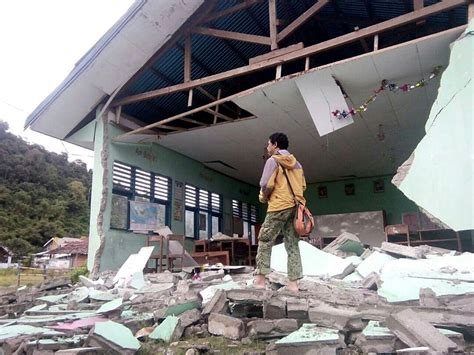 Earthquake Jakarta Post | tinombala personnel deployed to help victims of poso