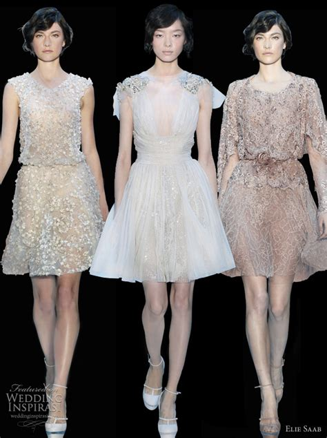Dress By Elsire by Elie Saab Fall 2011 2012 Couture Wedding Inspirasi