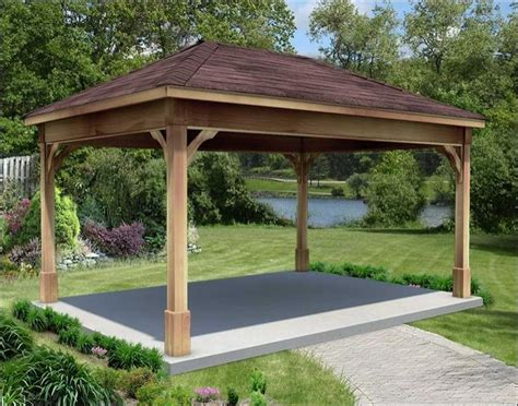 Gazebo Kits Cheap Cut Cedar Ramadas Yard
