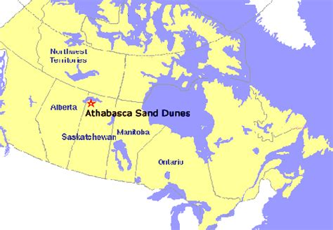 lakes of canada map athabascan adventure canada map