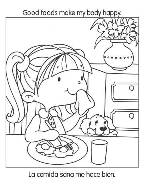 Buenos hábitos de salud y nutrición – Cuaderno para