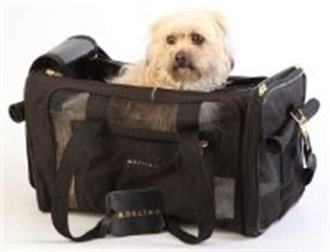 Delta Pets In Cabin by Sherpa Delta Pet Carrier Medium Black Soft