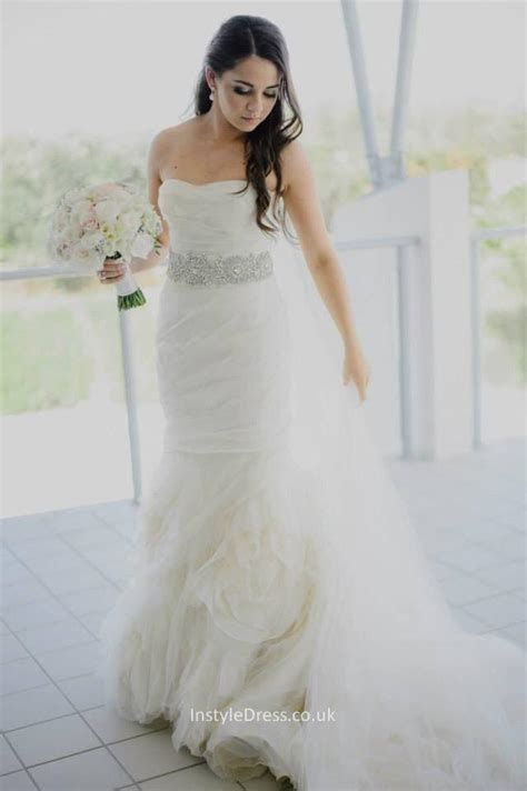 Layered Tulle Wedding Dress