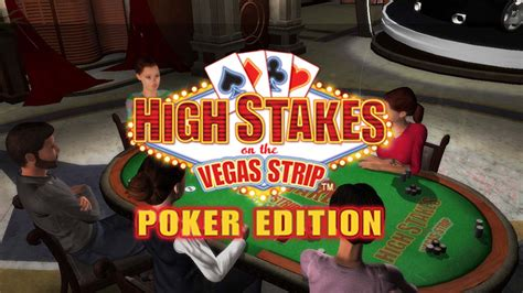 high stakes   vegas strip poker edition game ps