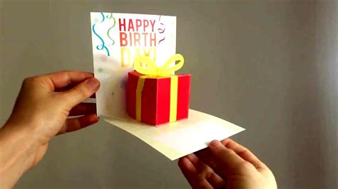 Pop Up Birthday Card Templates Free Pop Up Birthday Card Template Besttemplates123