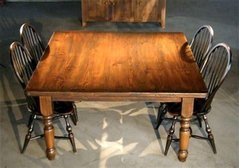 rustic square farmhouse table farmhouse dining tables boston  ecustomfinishes