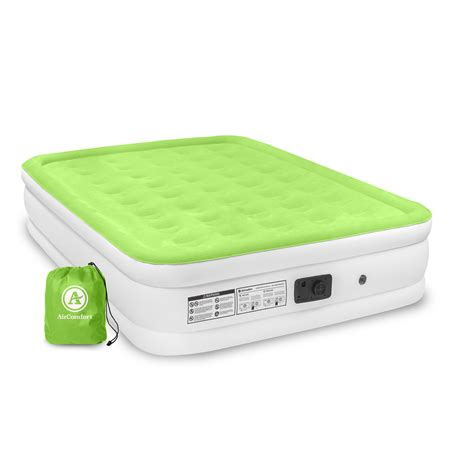 air comfort easy size raised air mattress with built in
