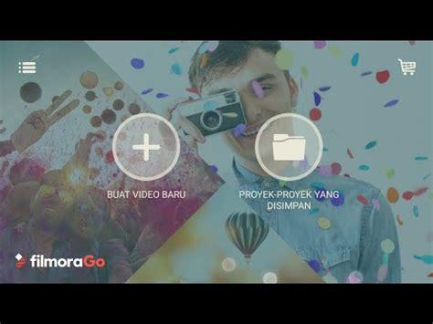 tutorial menggunakan filmora tutorial filmorago cara edit video tutorial simple