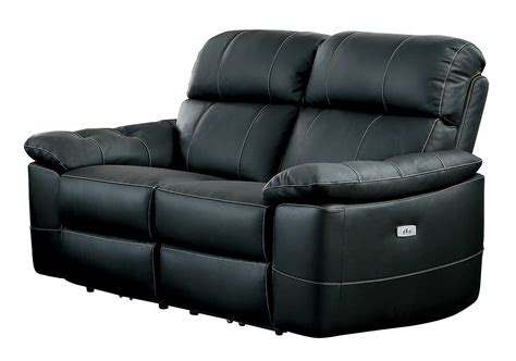 Black Leather Recliner Sofa Set Homelegance Nicasio Power Reclining Sofa Set Black