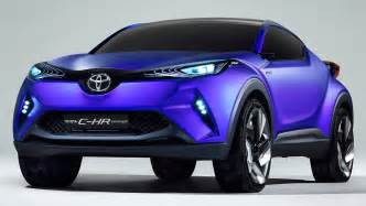 toyato new car toyota c hr concept to seed new baby suv car news carsguide