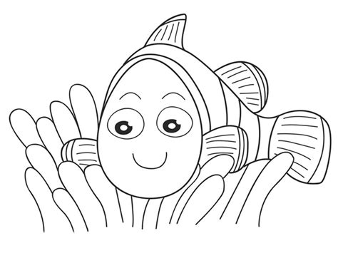 nemo coloring pages free printable free dori nemo coloring pages