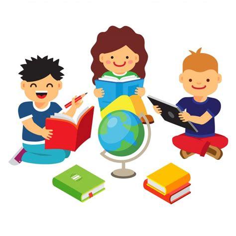 imagenes de niños jugando y aprendiendo grupo de ni 241 os estudiando y aprendiendo juntos descargar