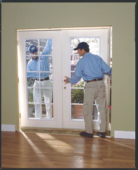 doors installation install top guide track to jamb