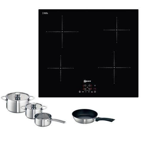 induction hob use pans neff oven hob pack circotherm 174 b12s22n3gb oven t40b30x2 induction hob pan set
