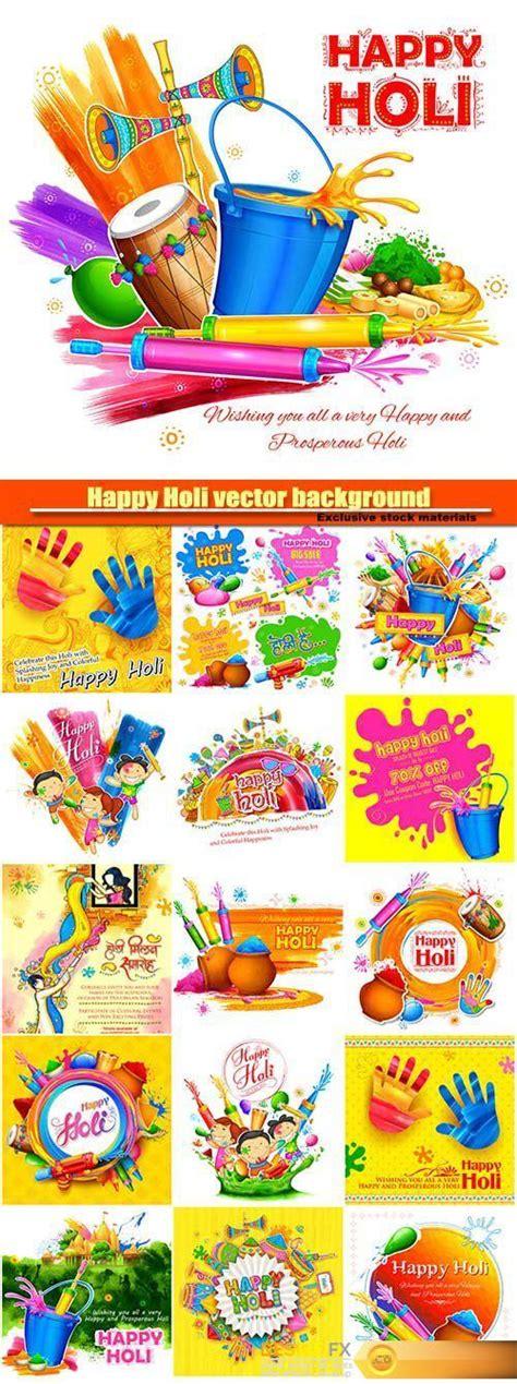 desirefxcom  happy holi vector background