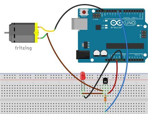 transistor engine transistores y motores de cc tutoriales arduino