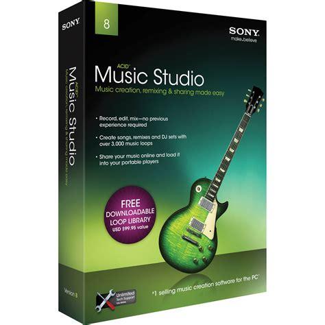 sony acid studio 8 complete home recording masamst8000