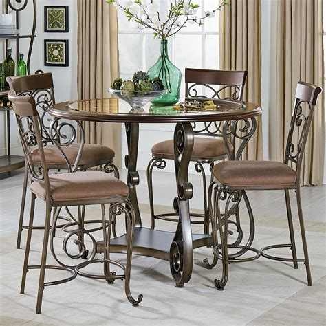 furniture table and chairs standard furniture bombay counter height table and