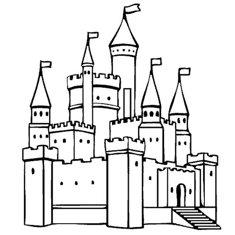 princess house coloring pages coloring castle flag page coloring home