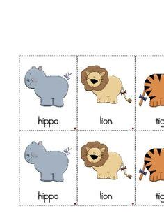 printable zoo animal matching game 7 best images of zoo animals matching printables zoo