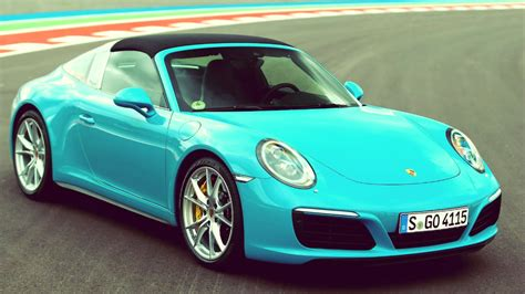 miami blue porsche targa 2016 porsche 911 targa 4s miami blue full throttle