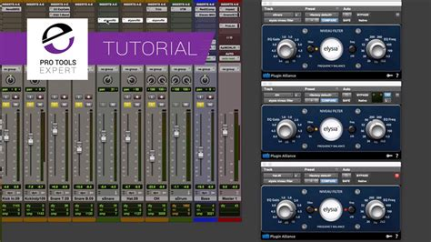 tutorial space drum eq pre or post compression pro tools expert