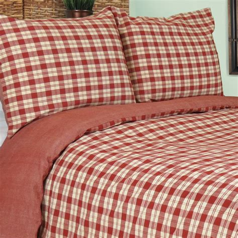 buffalo plaid comforter vintage house by park b smith buffalo plaid mini
