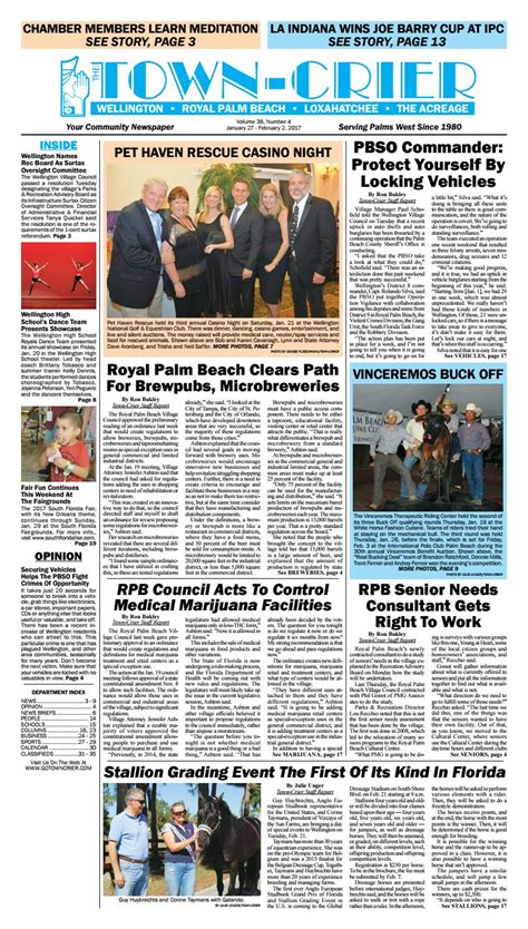 the high council royal institute of magic volume 6 books town crier newspaper january 26 2017 by wellington the