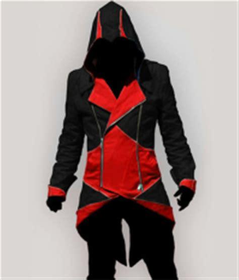 design jacket anime man boy assassins creed 3 iii conner kenway hoodie coat