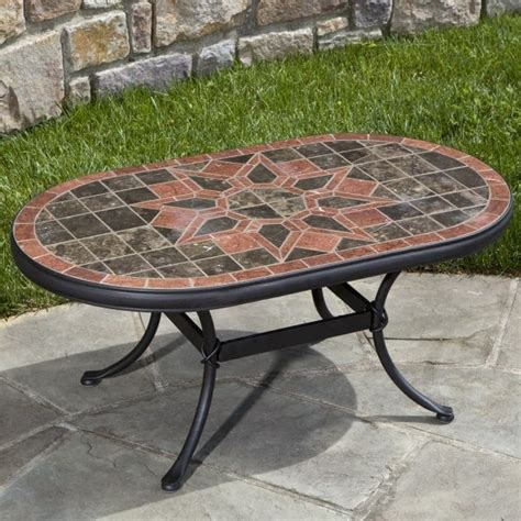 macchiato marble mosaic coffee table