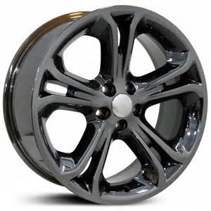 fits ford 18x8 focus fr09 matte black hpo wheels rims