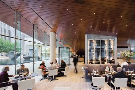 lincoln centre cafe restaurant archpaper