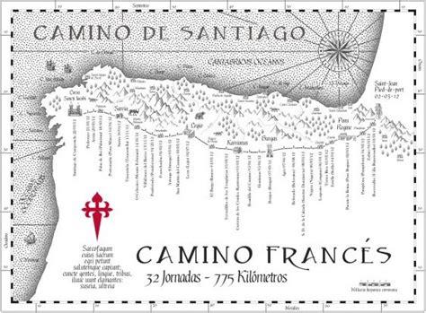 best gifts for the camino de santiago pilgrim 17 images about camino de santiago maps on