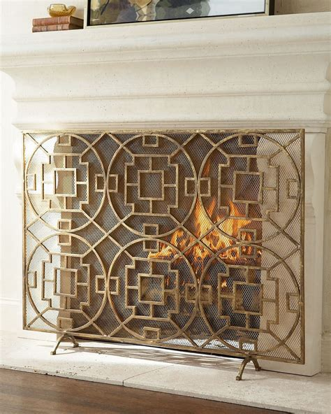 custom fireplace curtain remarkable decorative fireplace screens in home curtain