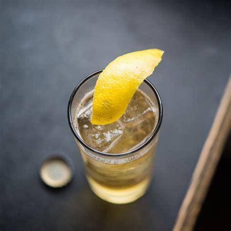 q drinks scotch and soda