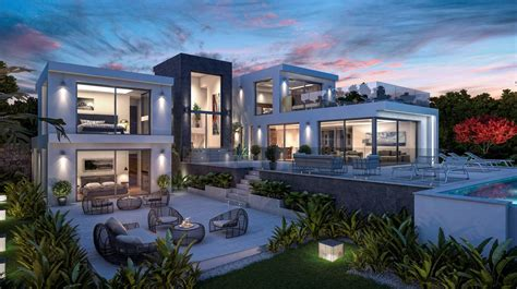 modern new build villa for sale in javea with sea view