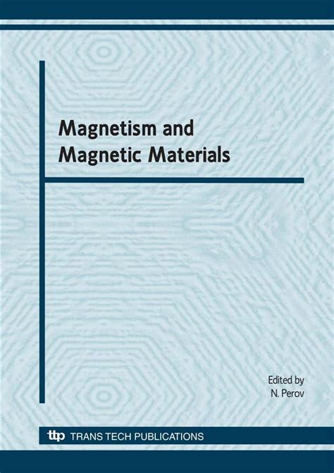 characterisation of soft magnetic materials rotational magnetisation books solid state phenomena