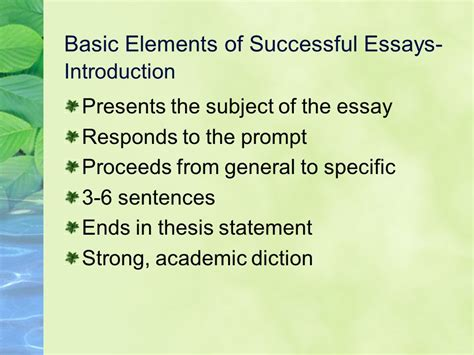 Into The Essay Thesis by Elements Of A Thesis Statement 28 Images Elements Of A Thesis Paper Lawwustl Web Fc2 Thesis
