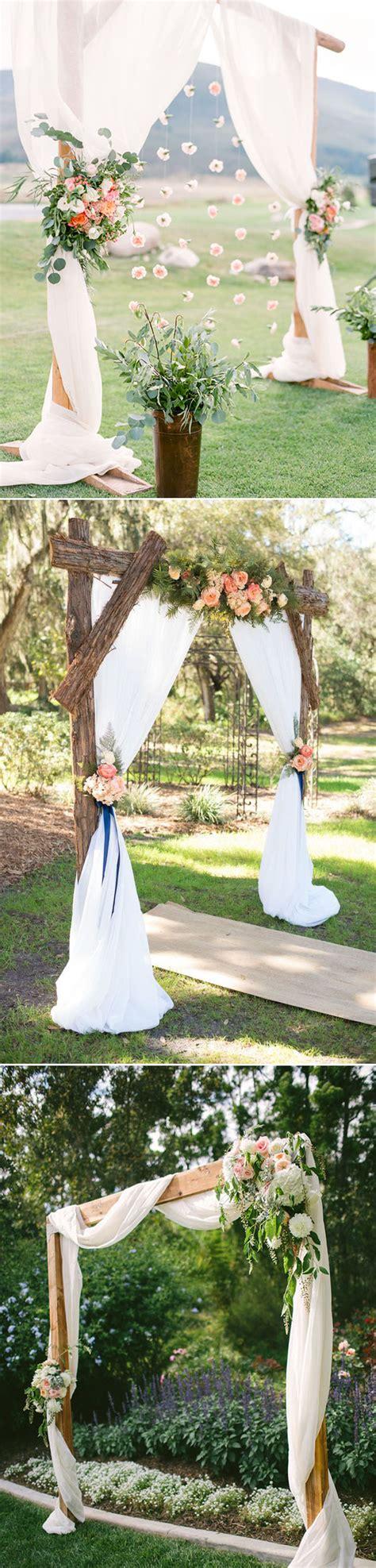 30 best floral wedding altars arches decorating ideas