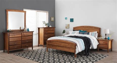 Forty Winks Bedroom Furniture Forty Winks Bentley Light Wood Stained Bedroom Furniture Suite With Black White And Blue