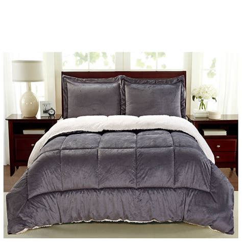 suede comforter sherpa faux suede comforter set out of stock stoneberry