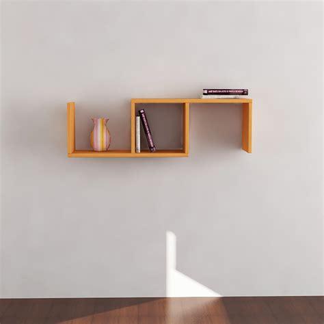 Orange Wall Shelf by Dibi Wall Shelf Orange Display And Wall