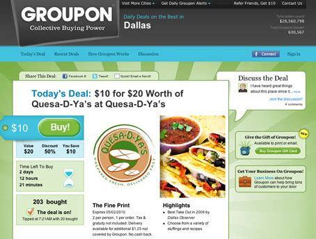 groupon deals marketing to only 1 in 5 groupon users return the