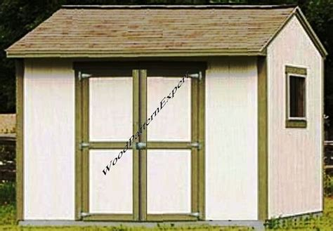 shed    paper patterns build  utility storage gable