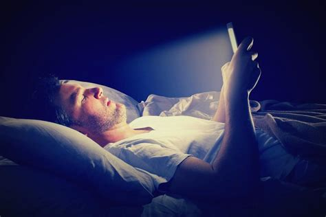 headaches at night before bed blue light at night affects your brain hormones health