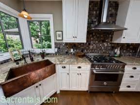 Kitchen With Copper Sink Copper Kitchen Appliances Kitchens With White Appliances Copper Sink With Appliances Kitchen