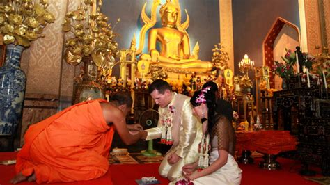 Wedding Blessing Thailand by Bangkok Thai Buddhist Blessing
