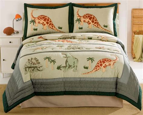 boys twin bedding dinosaur boys bedding in full queen or twin quilt sets